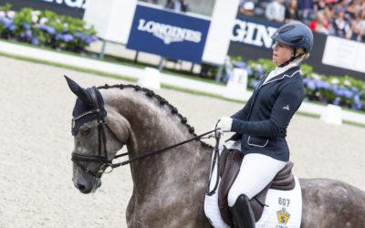 Nominerade hästar till unghäst-VM i dressyr