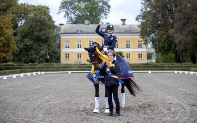 Flera SWB-hästar och framgångsrik SWB-uppfödare prisades på Ryttargalan
